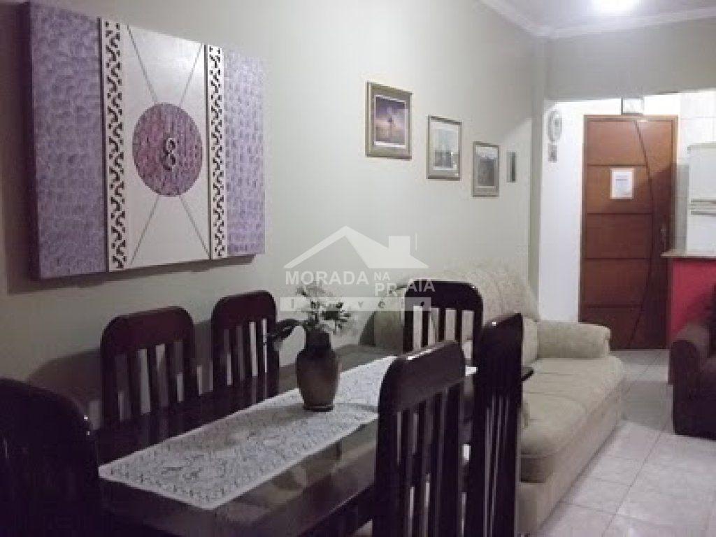 sala ang 02 do apartamento com 1 dormitórios em Cidade Ocian - Praia Grande