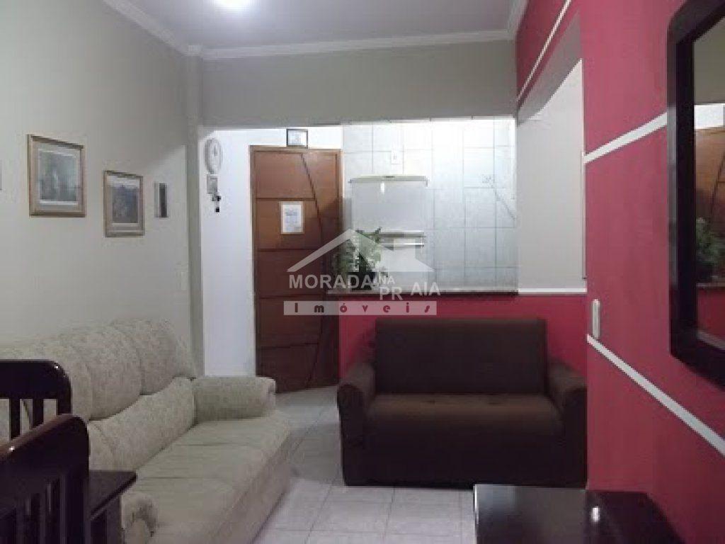 sala do apartamento com 1 dormitórios em Cidade Ocian - Praia Grande