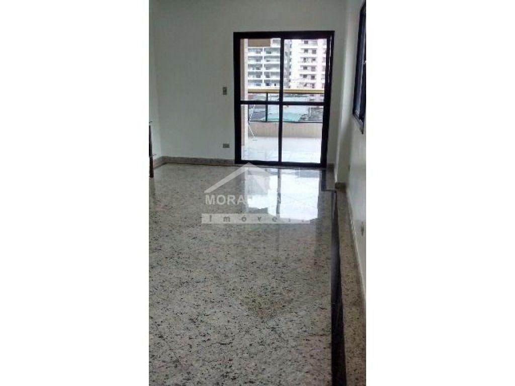 Sala do apartamento com 3 dormitórios em Vila Tupi - Praia Grande