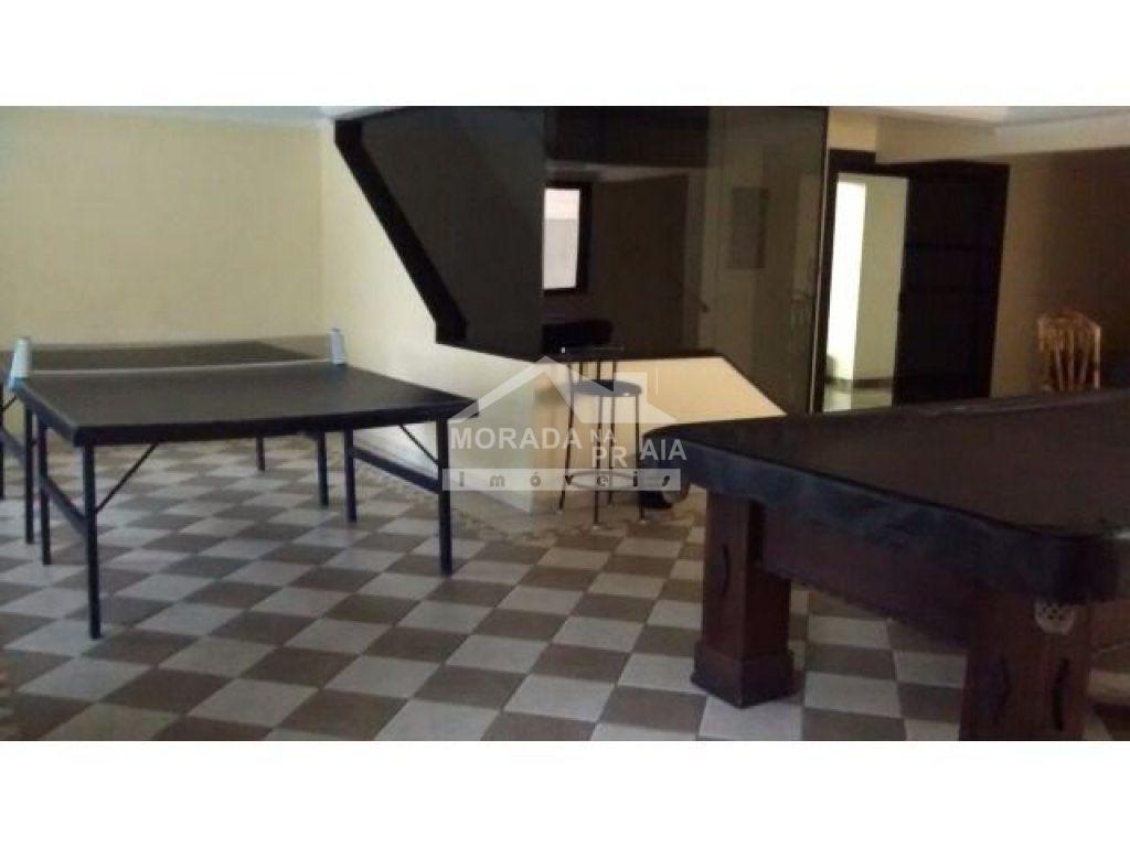 Salão de jogos do apartamento com 3 dormitórios em Vila Tupi - Praia Grande