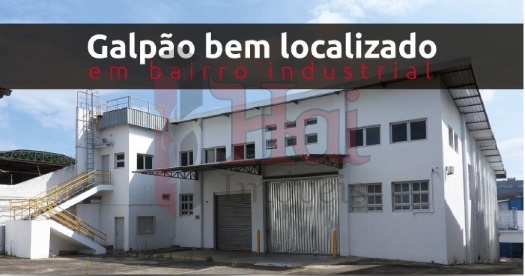 Galpão, Depósito E Armazém para Locação - Parque Industrial Das Oliveiras