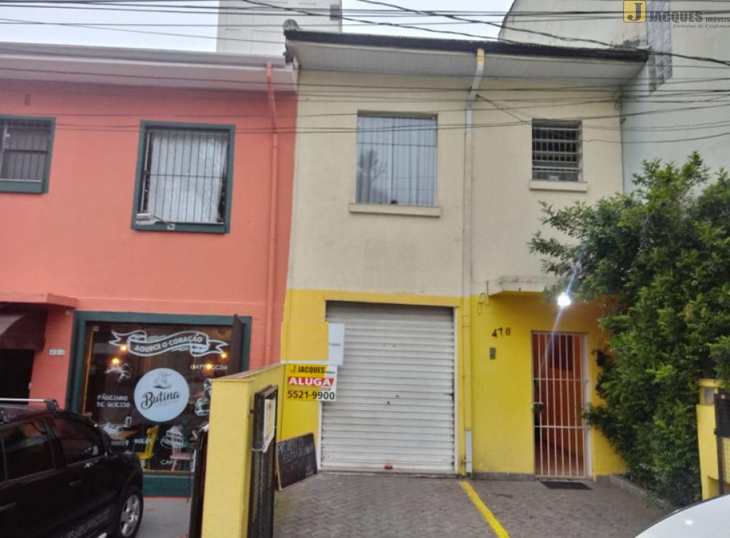Salão para Locação - Chácara Santo Antônio (Zona Sul)
