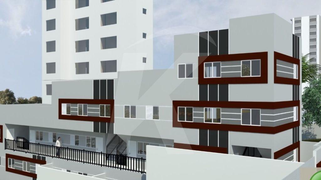 Comprar - Condomínio - Vila Isolina Mazzei - 1 dormitórios.