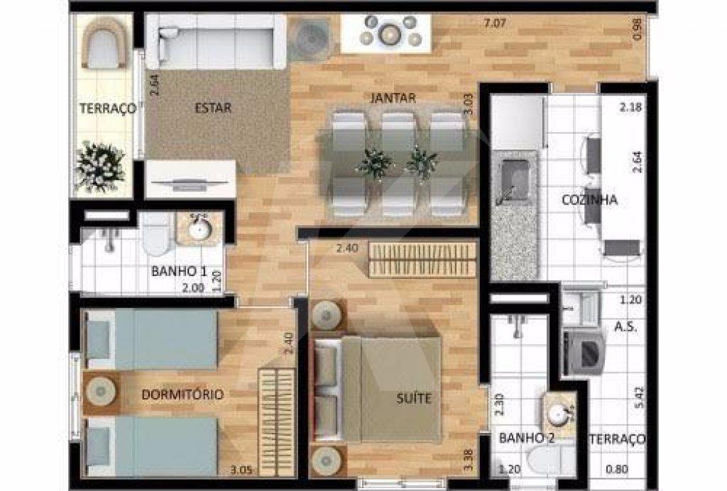 Apartamento Vila Medeiros - 2 Dormitório(s) - São Paulo - SP - REF. KA1875