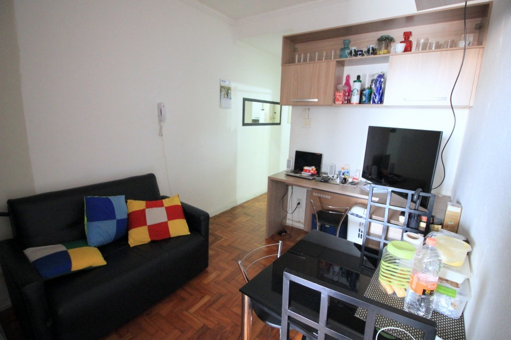 Comprar - Apartamento - República - 1 dormitórios.