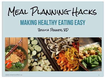 Meal Planning Hacks by Jessica Penner, RD