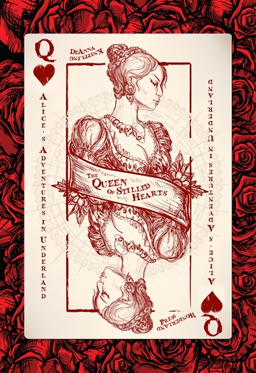 DeAnna Knippling : Alice's Adventures in Underland:  The Queen of Stilled Hearts