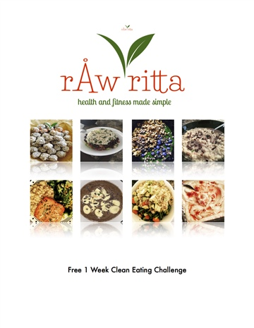 Free 1 Week Clean Eating Challenge by rawritta