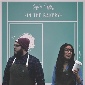 Sipp'n Coffee in The Bakery by Angie Rose
