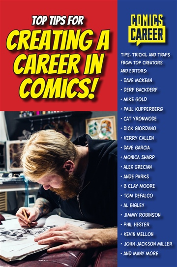 Top Tips for Creating a Career in Comics