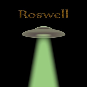 Roswell by The Mad Poet