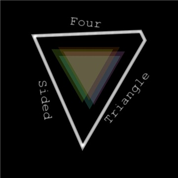 Four Sided Triangle by The Mad Poet