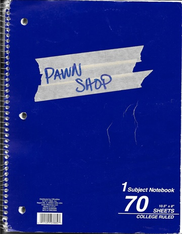 Joey Esposito : Pawn Shop Script Book