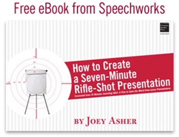 How to Create a Seven-Minute Rifle-Shot Presentation