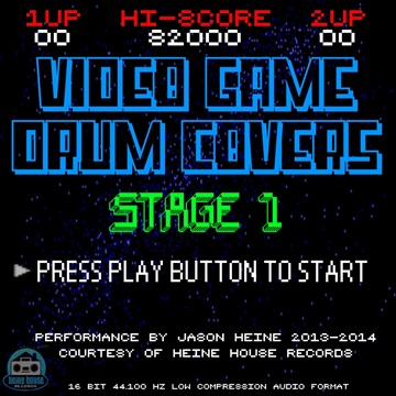 Jason Heine : Video Game Drum Covers Stage 1