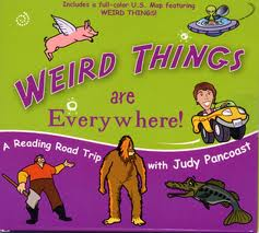 Judy Pancoast : Weird Things Are Everywhere! A Reading Road Trip with Judy Pancoast