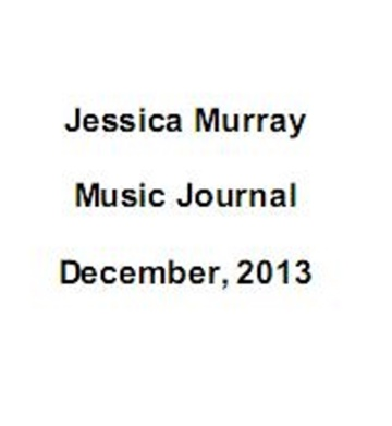 12/2013: music journal