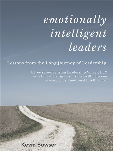 Emotionally Intelligent Leaders by Kevin Bowser