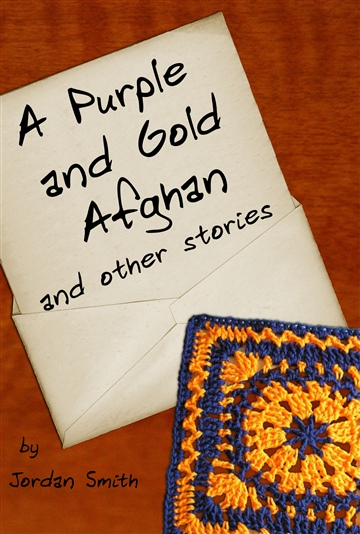A Purple and Gold Afghan