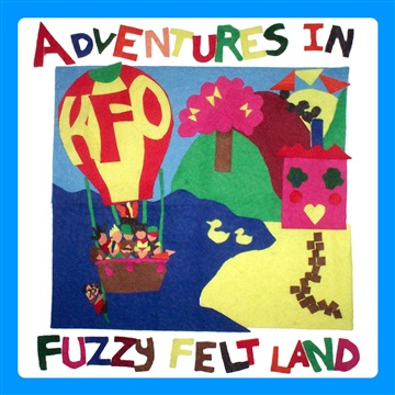 The Kazoo Funk Orchestra : Adventures In Fuzzy Felt Land