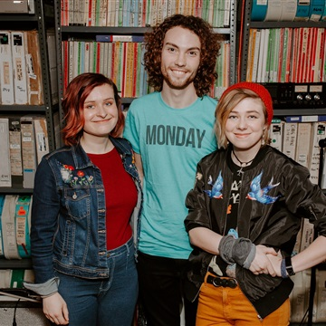 The Accidentals Paste Studio Session in NYC, New York 3/2/20 by The Accidentals