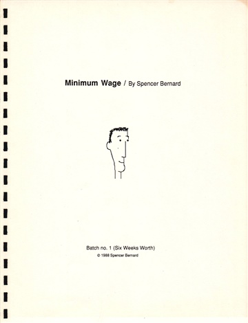 Spencer Bernard : Minimum Wage
