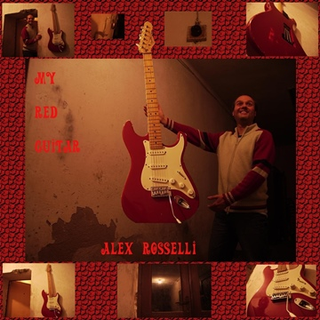 My Red Guitar by Alex Rosselli