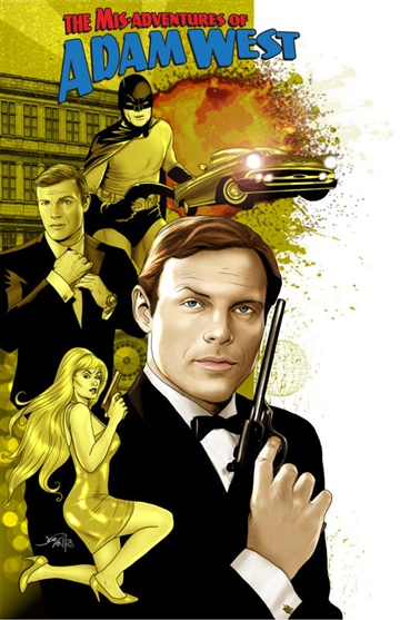 Mis-adventures of Adam West by Adam West