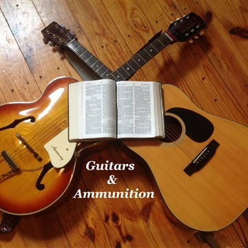 Guitars and Ammunition by Mahlon Freeman