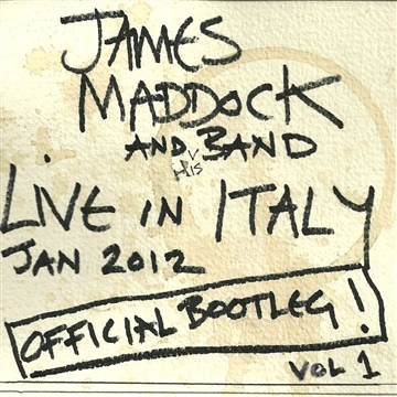 Live in Italy by James Maddock