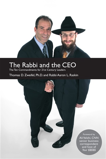 The Rabbi and the CEO by Thomas D. Zweifel