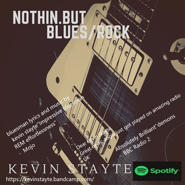nothin but blues/rock by kevin stayte
