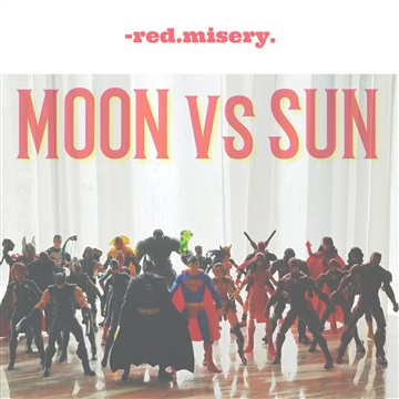 Moon vs Sun by Red Misery