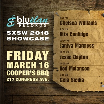 Blue Elan Records : 2018 SXSW Sampler