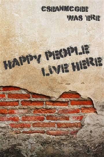 Happy People Live Here by C. Sean McGee