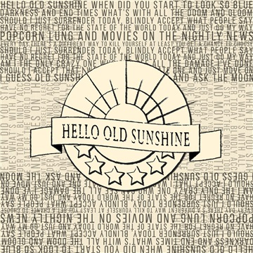 Hello Old Sunshine by Beau James