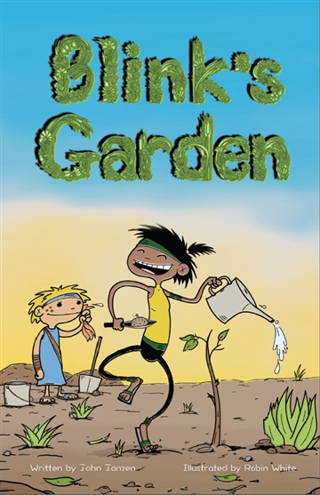 Blink's Garden Illustrated Storybook