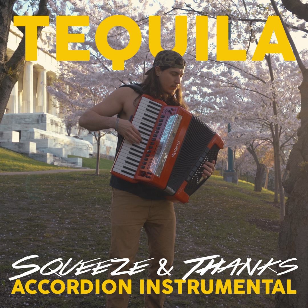 """""""Tequila"""" - Dan + Shay (Accordion Instrumental) by Squeeze & Thanks"""