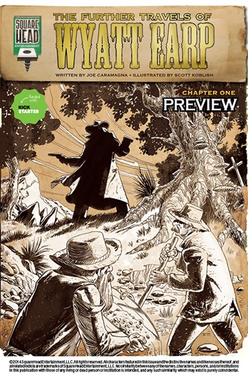 Joe Caramagna : The Further Travels Of Wyatt Earp #1 (Preview)