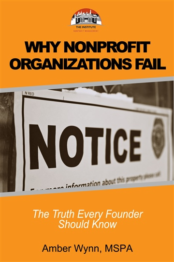 Why Nonprofits Fail by Amber Wynn