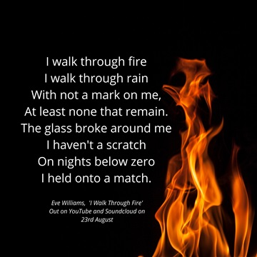 I Walk Through Fire by Eve Williams