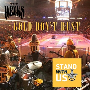 Gold Don't Rust - Go Nashville Predators! by The Weeks