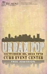 Belmont University Showcase Series : Urban Pop 2012