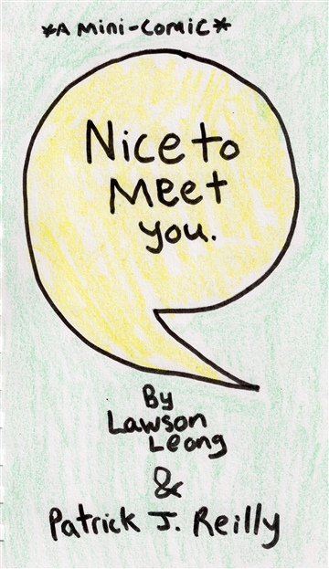 Nice To Meet You by Patrick J. Reilly