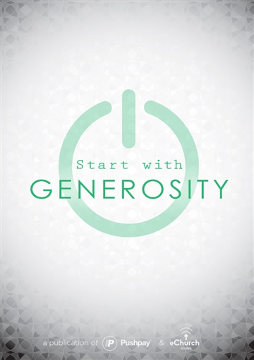 eChurch : Start with Generosity