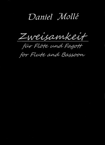 Zweisamkeit: für Flöte und Fagott (for Flute and Bassoon) by Venturvane (Daniel Mollé)
