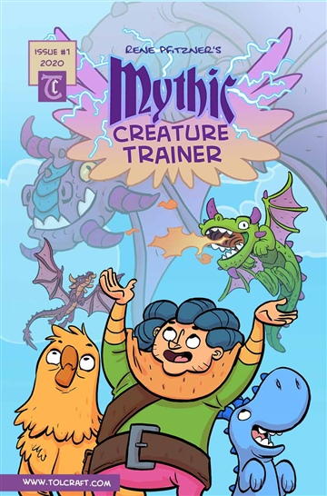 Mythic Creature Trainer Book 1