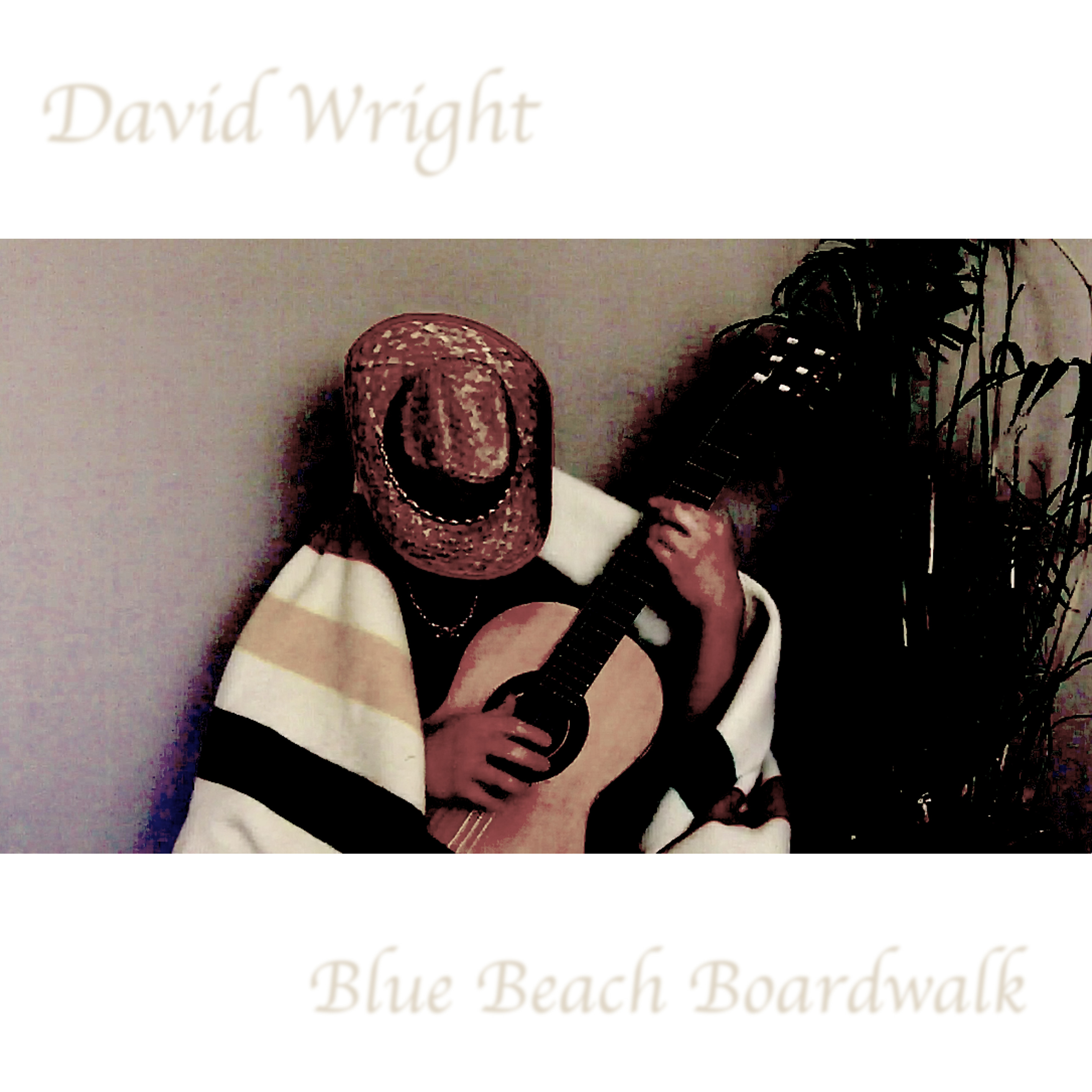 Dave V Wright : Blue Beach Boardwalk