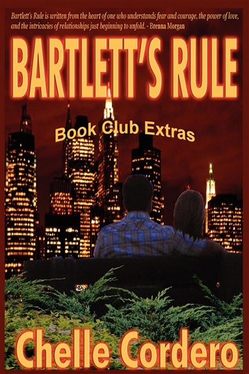 Chelle Cordero : Bartlett's Rule by Chelle Cordero Book Club Extras