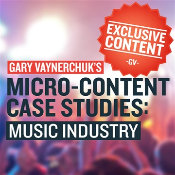 Music Industry Case Studies (Plus Bonus Chapter on Twitter) by Gary Vaynerchuk